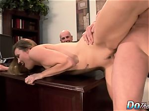 cuckold wife Daisy Layne pummeled by stud