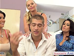 Wives Jessica Jaymes, Phoenix Marie and Romi Rain tear up