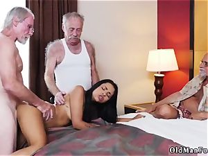 daddy instructs patron compeer s daughter-in-law how to wrestle Staycation with a latin beauty