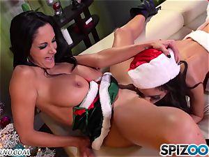 Ava Addams - Christmas group 4 way porn