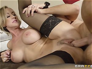 The spouse of Brandi love lets her plow a different boy