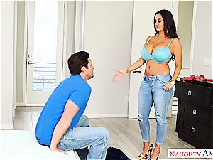 super big-titted milf Ava Addams rails his beef whistle into oblivion