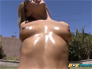 POVPerverts.net - Carter Cruise boinks and swallows jism