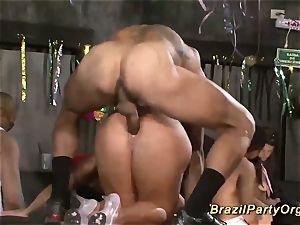 mexican samba groupsex party fuck-a-thon