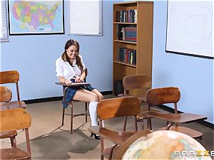 Darling college girl Dillion Harper gets romped by her educator