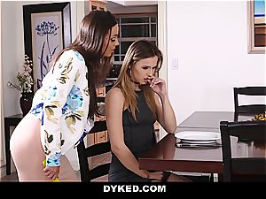 Spoiled nubile Jillian Janson is taught some discipline