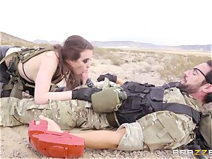 metal Gear Solid five rectal pornography parody with ultra-kinky black-haired Casey Calvert