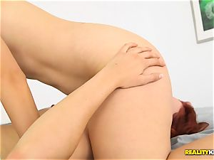 Minge munching crazy lesbos Kimberly Kane and Jayden Cole messing with their cunts