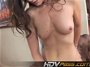 HDVPass interracial orgy with India Summers