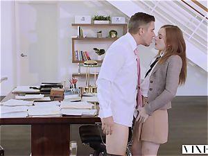 VIXEN Intern predominated By Her Father's biz partner