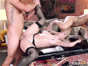 Cali Carter joins the massage joy with Cherie Deville