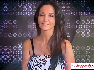 The Stripper experience- Ava Addams and get a cute drill