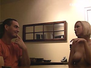 college dare game has chesty nubile unexperienced nude showcasing