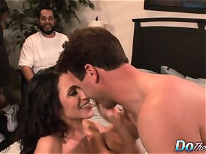 cuckold wifey Ariella Ferrara pulverize stud