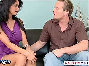 mischievous Ava Addams plumbed and decorated by her neighbor