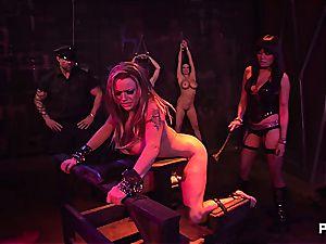 Jennifer's hardcore interrogation