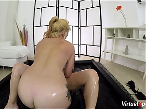 chubby girl/girl nuru massage with Lucia
