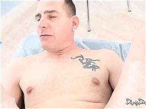 Dana mistreats her dude with a fat fuck stick