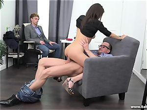 Sell Your gf - humped by the husband's manager
