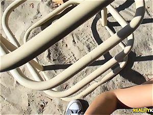Blair Williams playground molten poke