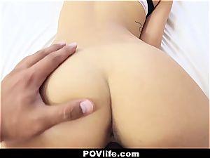 stunning Latina Gina Valentina pov banging