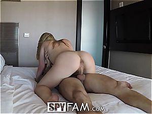 Stepsis blonde wants her bro as penetrate buddy