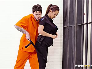 Don't glob the soap in Brazzers prison