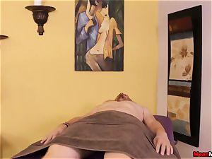 nubile masseuse senses ugly To see His spunk