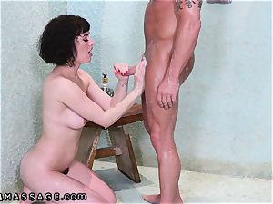 Shh.. I rough banged amateur masseur My wifey Cant Know