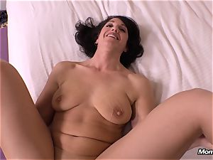 innocent brown-haired cougar hotwife internal ejaculation wish