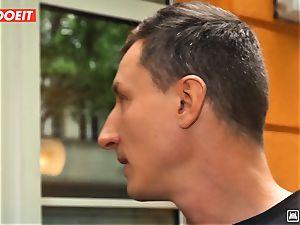 LETSDOEIT - wild Traveler bangs successful German In Hostel
