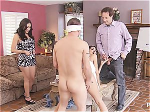 group lovemaking and Hangman with cute couples two