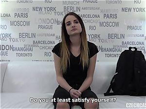 Czech woman audition Dominika