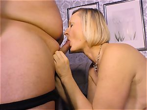 gonzo OMAS - sloppy mature screw with rookie German light-haired