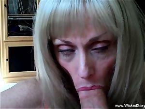 2 knobs For first-timer GILF mom