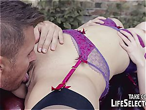 LifeSelector fuck-a-thon compilation with Samantha Bentley