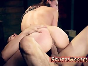 extraordinary assfuck creampie heads after bitchy young Aidra and takes her on a rail
