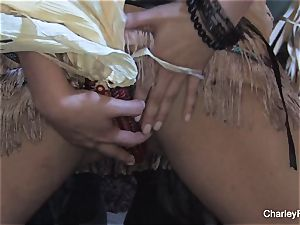 big-titted Charley chase is insatiable for the harvest