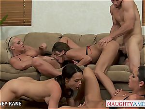 insane Kortney Kane wants to satiate all the man meat she can