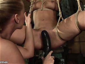 Kathia Nobili enjoy nailing the super-fucking-hot female with dildo