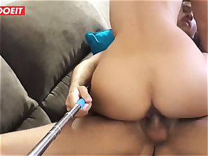 Hungarian super-fucking-hot stunner Gets Rebound hookup With Spanish couple