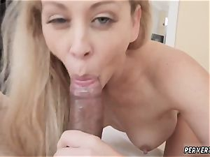 French cougar slut and jerk very first time Cherie Deville in Impregnated By My Stepcrony s son-in-law