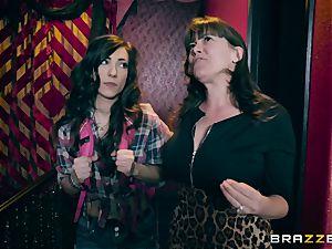 lezzie joy with Alexa Nova and Ruby Sparx